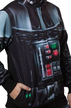Sublimated Darth Vader Costume Hoodie