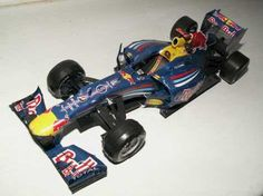 F1 Paper Model - Red Bull RB6 Free Template Download