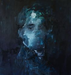 Jake Wood-Evans is an artist from the United Kingdom, who creates disintegrating tributes to his favorite art in oil paint.