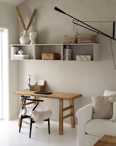 my scandinavian home: 10 ways To Transform Your Home Into a Sanctuary Like a Dane! my scandinavian home: 10 ways To Transform Your Home Into a Sanctuary Like a Dane! Office Decor, Home Office, Interior Exterior, Interior Design, Modern Interior, Decoration Ikea, Decor Diy, Decor Ideas, Diy Decorating