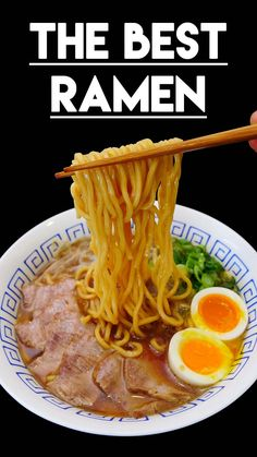 Asian at Home Ramen Recipe is the BEST Ramen recipe! Anybody as excited as I am about this real authentic, the BEST ramen recipe you will ever find online? Ramen Broth, Shoyu Ramen, Ramen Soup, Tonkatsu Ramen, Noodle Soup, Best Ramen Recipe, Authentic Ramen Recipe, Pork Ramen Recipe, Authentic Korean Food