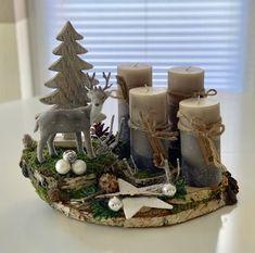 Christmas Fairy Lights, Diy Christmas Ornaments, Christmas Time, Christmas Wreaths, Christmas Table Decorations, Holiday Decor, Christmas Floral Arrangements, Creations, Scrapbooking