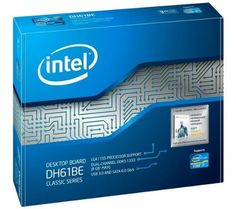 Intel Classic DH61BE Desktop Motherboard - Intel H61 Express Chipset - Socket H2 LGA-1155 - GC4892 by Intel. $69.99. General Information Manufacturer/Supplier: Intel Corporation Manufacturer Part Number: BOXDH61BEB3 Brand Name: Intel Product Line: Classic Product Model: DH61BE Product Name: Classic DH61BE Desktop Motherboard Marketing Information: The Intel Desktop Board DH61BE delivers high-end features like USB 3.0, SATA 6 Gb/s, PCIx16 along with VGA and DVI to provid...