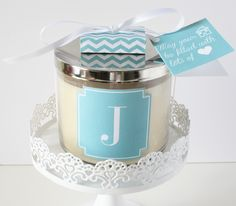 Free customizable candle printables by ForChicSake.com