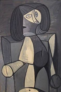 "Pablo Picasso - ""Woman in gray"". 1942"