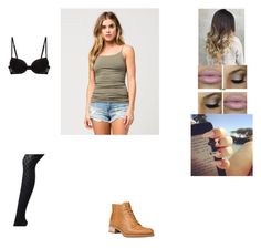 """outfit 13"" by beauitfulasiam on Polyvore featuring Full Tilt, Timberland and La Perla"