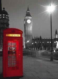 London Phone Box 500 Piece Jigsaw Puzzle