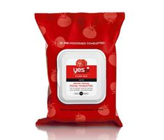 Must-Have Face Wipes: Get Clear. Shoo away zits with a swipe of Yes To Tomatoes Blemish Clearing Facial Towelettes, $6. Each wipe contains acne-fighting ingredients including salicylic acid to unclog pores, keep oil under control and heal pre-existing acne. The best part? They promise to keep blemish-causing bacteria at bay all without the dry side effects that most anti-acne products leave behind. #SelfMagazine