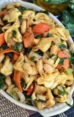 TUSCAN TORTELLINI SALADReally nice recipes. Every hour.Show me  Mein Blog: Alles rund um die Themen Genuss & Geschmack  Kochen Backen Braten Vorspeisen Hauptgerichte und Desserts # Hashtag