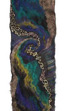 Scarf Nuno Felted Scarf Fall Fashion Long by FeltedPleasure, $168.00