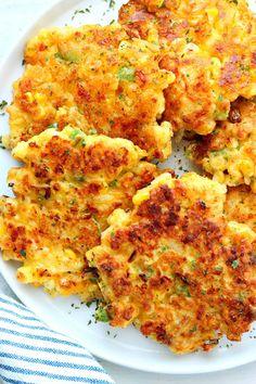 Best Corn Fritters - Crunchy Creamy Sweet