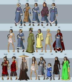 Katara from Avatar: The Last Airbender http://browse.deviantart.com/art/Katara-s-Wardrobe-75038846