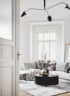 To create our own interior collection has been our dream since the founding of Westwing. Our creative team has in the … - Decoration For Home Living Room Carpet, Rugs In Living Room, Home And Living, Living Room Decor, Living Room Inspiration, Interior Inspiration, Home Interior, Interior Styling, Cosy Home