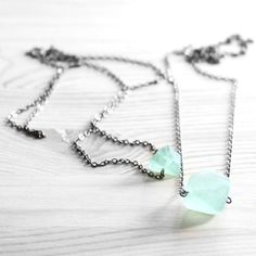 Rough Sea Necklace by Urban Aviary