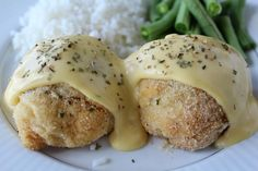 Chicken Pillows. Simple ingredients and looks really easy to make--even I think I can handle making it.