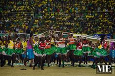 Jamaica 50th celebration, National Stadium Jamaica.