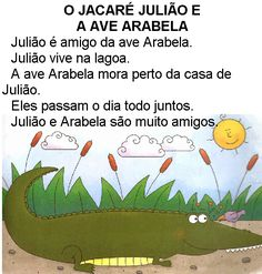 Texto O jacaré Julião e ave Arabela Poetry Lesson Plans, Poetry Lessons, Licensed Professional Counselor, Senior Management, Slam Poetry, Ela Classroom, Middle School Ela, Women In Leadership, Continuing Education