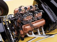 Hot Rod Ford engine