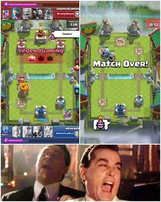When you win after they spam you with taunts :D Credits: NateRayward #ClashRoyale #ClashersHQ
