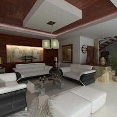 RESIDENCIA SINALOA: Salas de estilo moderno por OLLIN ARQUITECTURA
