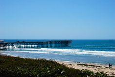 Pacific Beach Pier- fresh air, ocean breeze, & thee best lobster bisque ever!