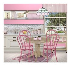 """""""Contest ~ Pink Home for October"""" by tiffanysblues ❤ liked on Polyvore featuring interior, interiors, interior design, home, home decor, interior decorating, Potting Shed Creations, Villeroy & Boch, Juliska and PiP Studio"""