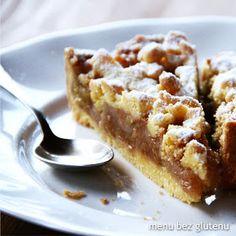 menu bez glutenu: szarlotka z mąki kukurydzianej Polish Desserts, Polish Recipes, Cookie Desserts, Polish Food, Healthy Cake, Healthy Baking, Gluten Free Cakes, Gluten Free Recipes, Good Food