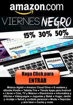 http://ama.zona-latinoamerica.com/viernes-negro-2015/  Te presentamos con los MEJORES DESCUENTOS en todas tus marcas preferidas en Viernes Negro. Somos Expertos para encontrar Ofertas en Amazon.