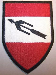 Austria Austrian Armed Forces Anti-Aircraft Weapons Troops School Patch (Large