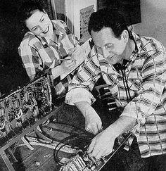Les Paul Foundation - Les Paul and Mary Ford at work by Les Paul Foundation, via Flickr