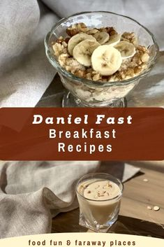 Ideas to change up your Daniel Fast breakfast routine. It doesn't have to be boring! Daniel Fast Breakfast, Fast Food Breakfast, Breakfast Recipes, Good Healthy Recipes, Healthy Food, Daniel Fast Recipes, Routine, Good Food, Vegetarian