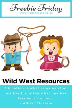 Freebie Friday ~ Wild West Resources - Monsters Ed Calendar Worksheets, Worksheets For Kids, Little Cowboy, Cowboy And Cowgirl, Fun Math, Math Activities, Weather Graph, Small Calendar, Wild West Theme
