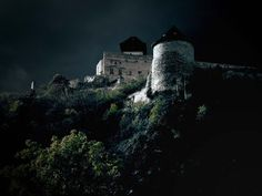 Image detail for -Haunted castle by ~xpetqa on deviantART Haunted Places, Haunted Houses, Germanic Tribes, Building A House, Deviantart, Mansions, History, House Styles, Photography