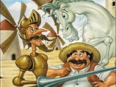 Don Quijote de la Mancha (Dibujos Animados) - YouTube