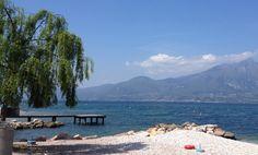 #gardalake #lagodigarda #beach #baiastancabeachbar this is my happy place