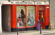 Armstrongs Second-Hand Clothes Store for Vintage Clothing in Edinburgh Grassmarket