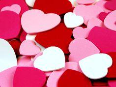 imagenes  | Fondo de escritorio Montaña de corazones