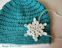 Mango Tree Crafts: Ice Queen Crochet Hat Pattern