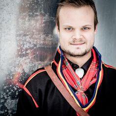 Ante Kuoljok i gällivarekolt fotograferat av Carl Johan Utsi