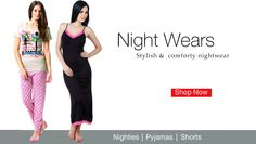A Fusion of style and comfort, nightwear ! Designed to make you feel good ! Shop Now http://hytrend.com/women/western-wear/nightwear.html