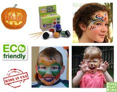 These awesome natural face paints are non-toxic, vegan, made-in-USA. SAFE15% gets you 15% off on www.pureplaykids.com