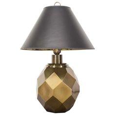 Jason Thompson, Side Table Lamps, Umbrella Holder, Coat Racks, Brass Lamp, Bedroom Lamps, Modern Table, Lamp Design, Lampshades