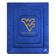 West Virginia Mountaineers Locker Room Quilted Bed Comforter