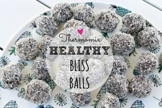 Mrs D plus 3 | Easy, healthy bliss balls in the thermomix | http://www.mrsdplus3.com