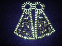 Prong-set RHINESTONE  on Brass  Clothing by HeyGrandmaHadThat