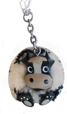 Cow-dorable PLUSH Cow Key Chain Gifts Cow Appreciation Day, Cow Mug, Cow Spots, Cow Nails, Cow Face, Shower Cap, Bobble Head, Cool Items