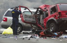 Wrong-way Driver Kills Six in Southern California Freeway #dui #drunkdriving