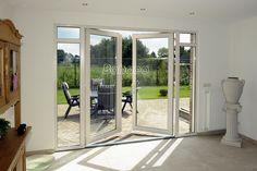 Garden Doors, Patio Doors, French Windows, French Doors, Garage Door Replacement, Kitchen Doors, Back Patio, Living Room Inspiration, Windows And Doors