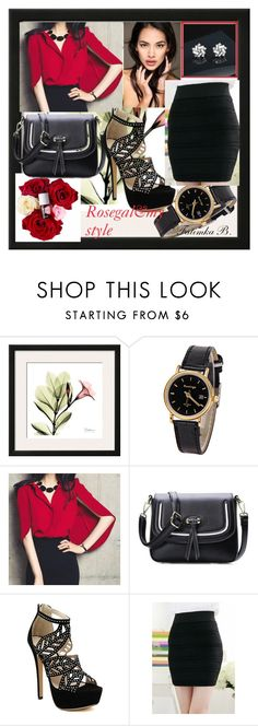 """1#Rosegal&my style"" by fatimka-becirovic ❤ liked on Polyvore featuring rosegal"