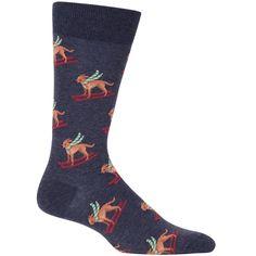 Men's Ski Dog Socks